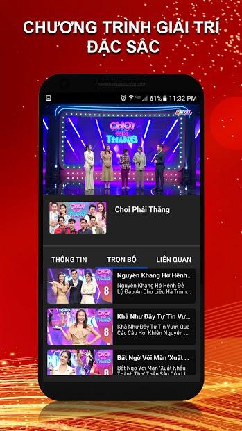 Screenshots THVLi -  Xem miễn phí truyền hình Vĩnh Long, phim, game show