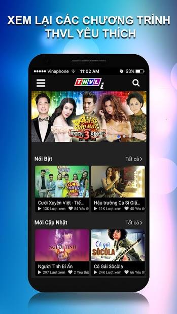 Screenshots THVL: Xem miễn phí truyền hình Vĩnh Long, phim, game show