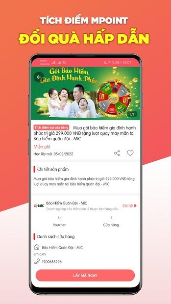 Screenshots Mega1 - Vui mỗi ngày: Săn ưu đãi, khuyến mãi hàng ngày