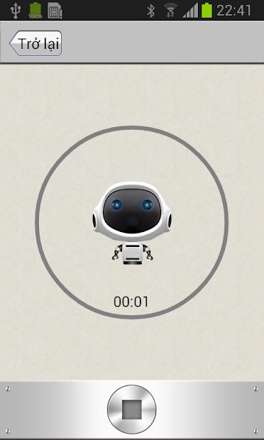 Screenshots Voice changer - Ứng dụng thay đổi giọng nói nam, nữ, em bé,...
