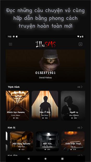 Screenshots IlluSMS - Phong cách đọc truyện tin nhắn mới lạ