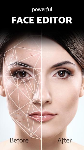 Screenshots Pixl: chỉnh sửa ảnh khuôn mặt