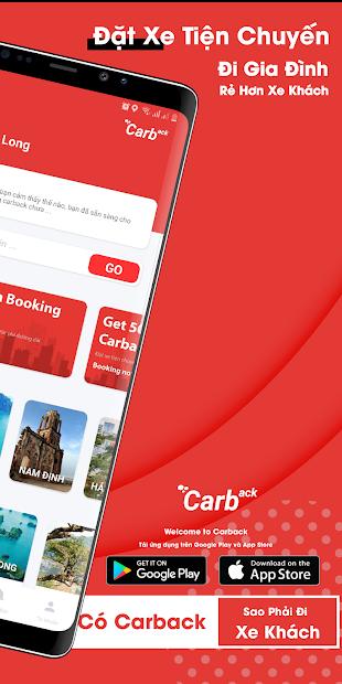 Screenshots Carback - Ứng Dụng Đặt Xe Tiện Chuyến