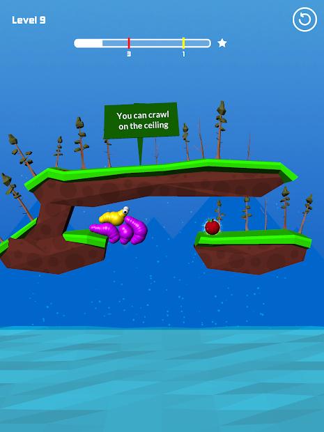 Screenshots Slug - Giúp sâu ăn táo