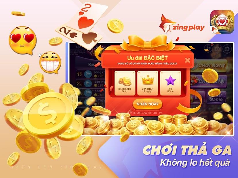 Screenshots Tiến Lên Miền Nam - Game đánh bài tiến lên online của ZingPlay