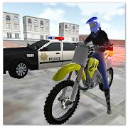 Motocross racing star: Game đua xe cảnh sát
