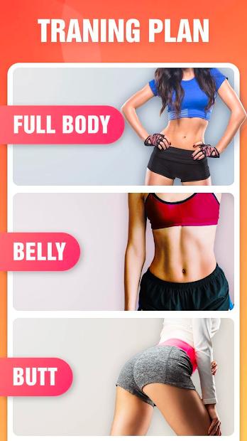Screenshots Giảm Cân trong 30 ngày: Ứng dụng giúp bạn giảm cân nhanh chóng