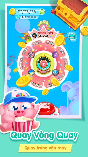 Screenshots Heo đến rồi - Trò chơi heo con xây đảo | Game giải trí hay