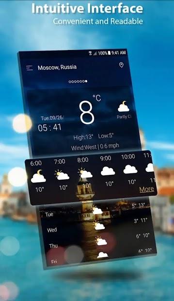 Screenshots Dự báo thời tiết 2020 - Thời tiết trực tiếp