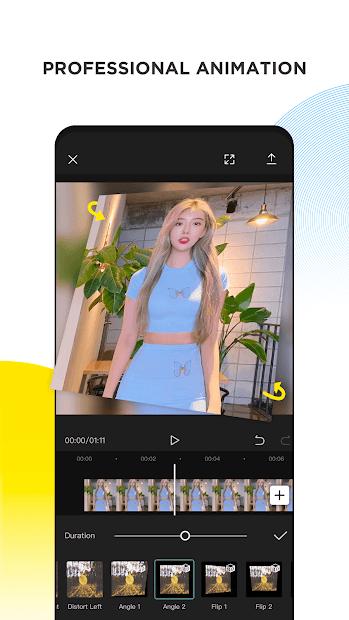 Screenshots Viamaker - Ứng dụng chỉnh sửa video nhanh chóng