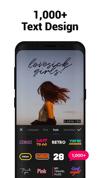 Screenshots VITA - ứng dụng chỉnh sửa video đơn giản