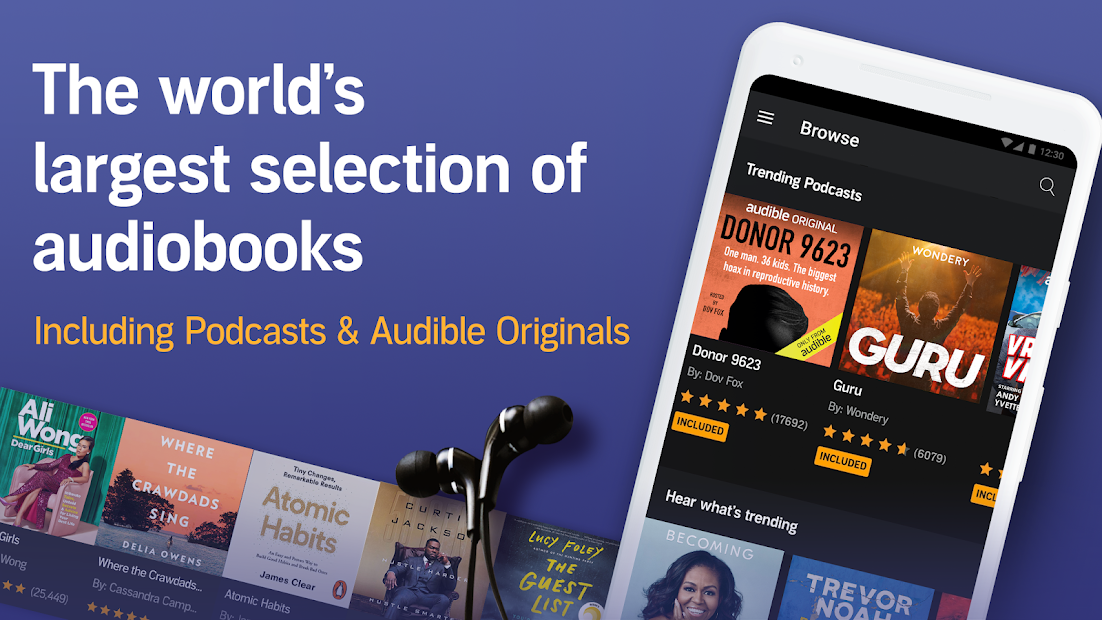 Screenshots Audible - Kho sách nói của Amazon Audible, Inc