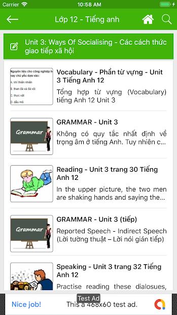 Screenshots Giải Bài Tập Offline - Giải bài tập Toán, soạn Văn từ lớp 1 đến 12