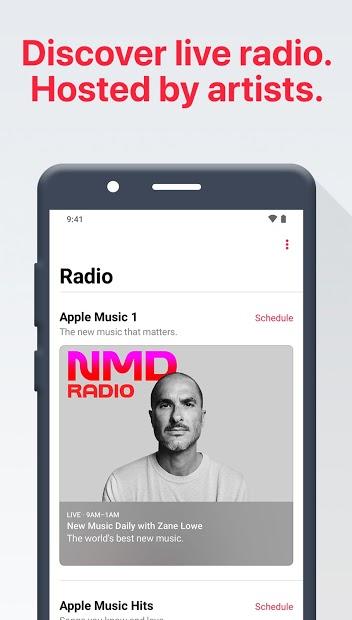 Screenshots Apple Music - Tổng hợp nhiều bài hát mới nhất