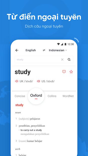 Screenshots U - Dictionary - Dịch và đọc tiếng Anh, tiếng Hàn - Học tiếng Anh hiệu quả