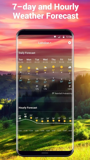 Screenshots Thời tiết và Đồng hồ - Xem dự báo thời tiết hôm nay và 7 ngày tới