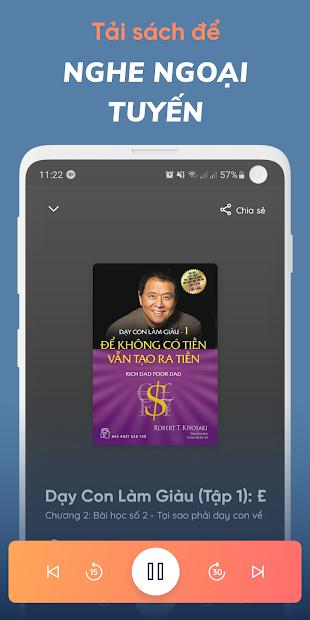 Screenshots Fonos - kho sách nói phong phú