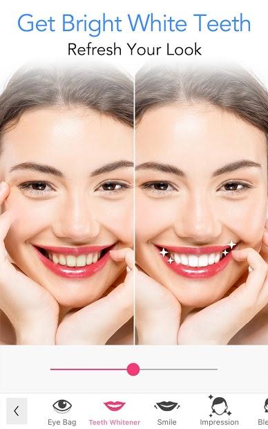Screenshots YouCam Makeup-Magic Selfie Cam & Virtual Makeovers: Hướng dẫn trang điểm