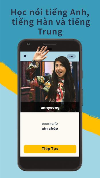 Screenshots Memrise: Ứng dụng học Tiếng Anh, từ vựng với 100 ngôn ngữ