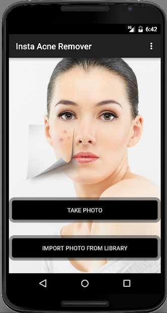 Screenshots Face Acne Remover Photo Editor App: Loại bỏ mụn và làm mịn làn da