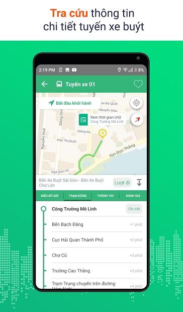 Screenshots BusMap - Bản đồ các tuyến xe buýt thành phố