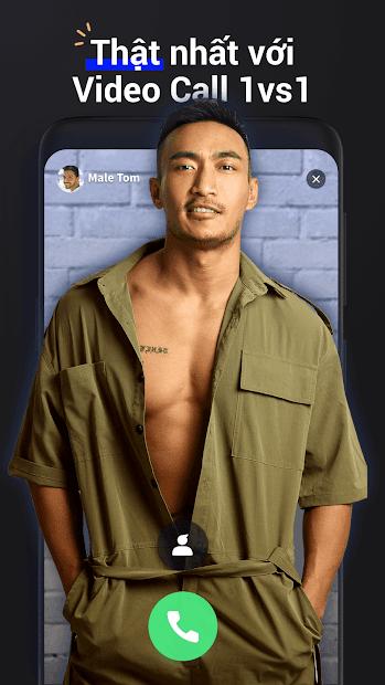 Screenshots Ứng dụng Blued Việt Nam - Mạng xã hội gay, chat gay