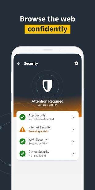 Screenshots Norton Mobile Security: Diệt virus miễn phí dành cho điện thoại