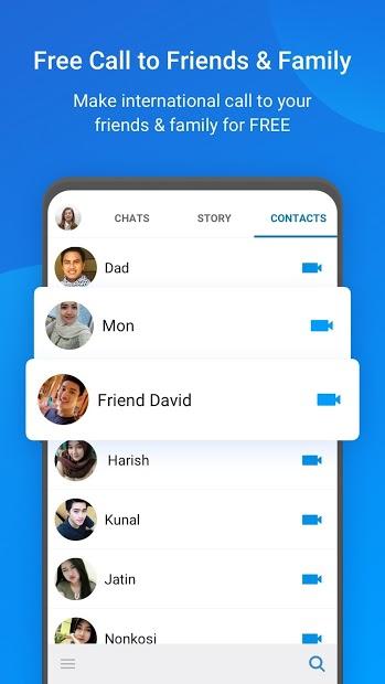 Screenshots imo - Mạng xã hội chat và gọi video miễn phí