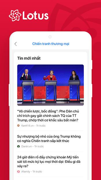 Screenshots Lotus - Mạng xã hội của người Việt