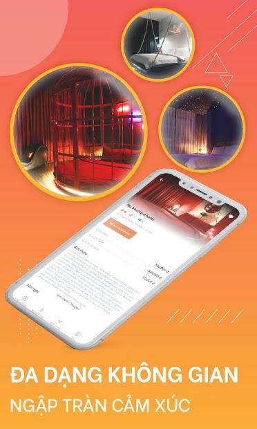 Screenshots Quickstay - Đặt phòng theo giờ - Ứng dụng đặt phòng trên điện thoại