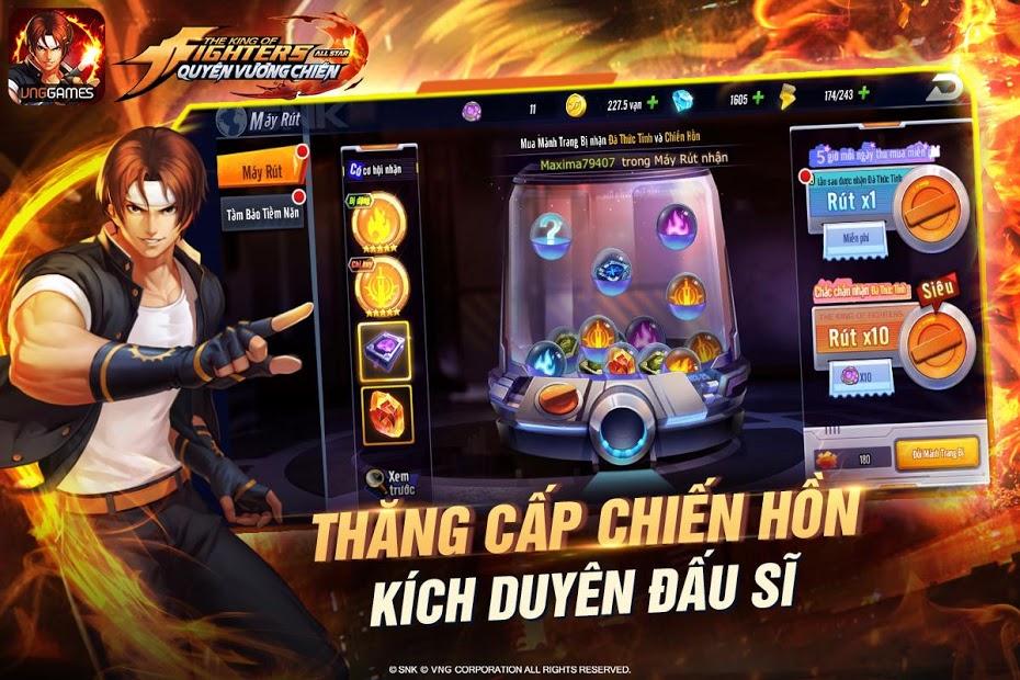Screenshots KOF AllStar - Quyền Vương Chiến VNG