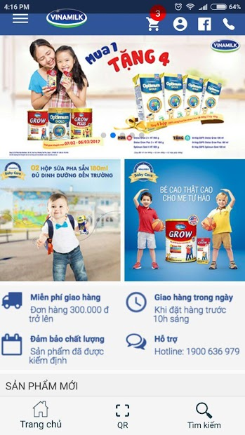 Screenshots Giấc mơ sữa Việt: Sản phẩm chính hãng của Vinamilk
