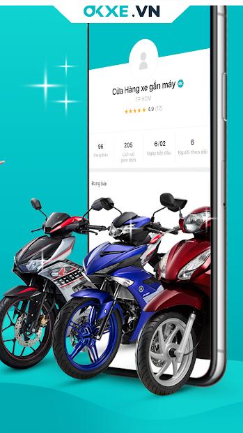 Screenshots Okxe - Mua bán xe máy, xe điện, phân khối lớn cũ trực tuyến