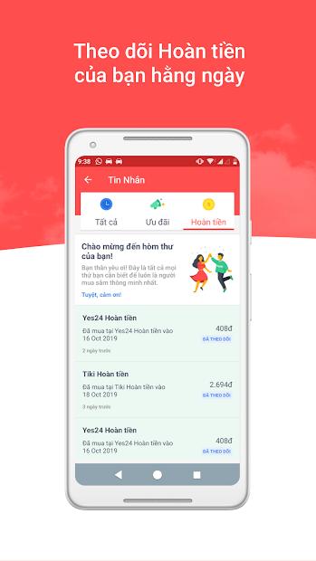 Screenshots Shopback - Mua sắm, nhận ưu đãi và hoàn tiền nhanh chóng