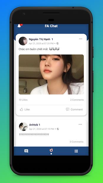 Screenshots Ola Chat - Ứng dụng kết bạn và hẹn hò FA