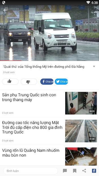 Screenshots News Republic - Ứng dụng cấp nhật tin tức mới nhất