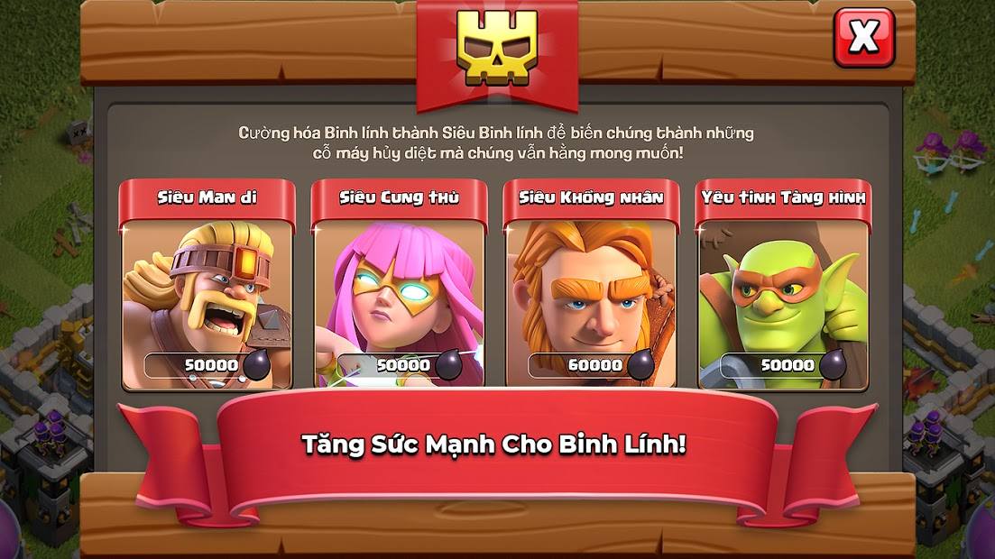 Screenshots Clash of Clans - Bang hội đại chiến | Game chiến thuật mobile