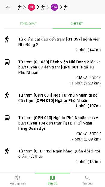 Screenshots Go!Bus: Ứng dụng xem thời gian xe buýt đến trạm, tìm đường, bản đồ bus