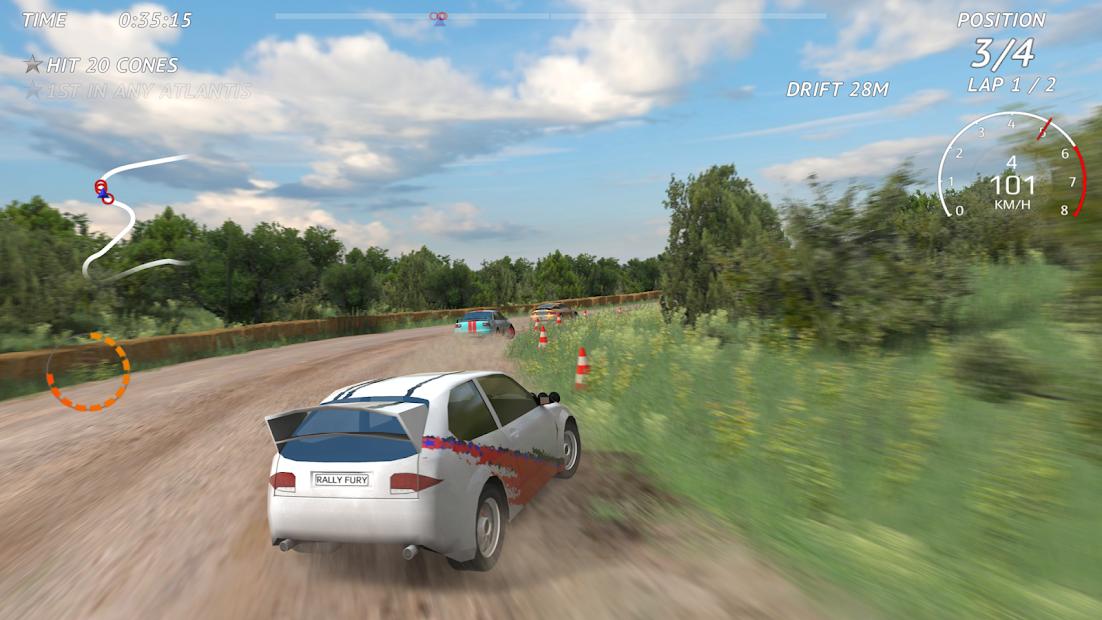 Screenshots Rally Fury - Đường đua kỳ thú | Game đua xe
