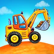 Trò chơi xe tải cho trẻ em - Game xây dựng nhà cửa