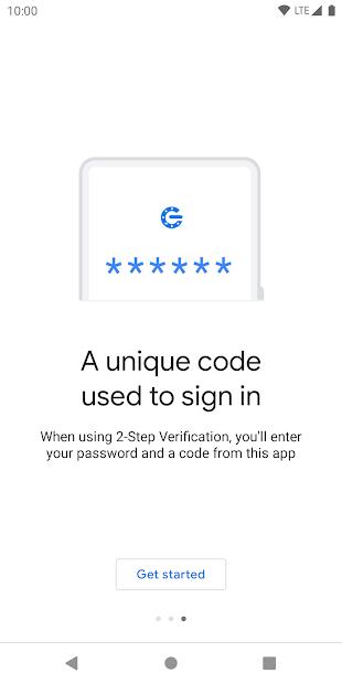 Screenshots Google Authenticator: Tạo mã Xác minh 2 bước trên điện thoại