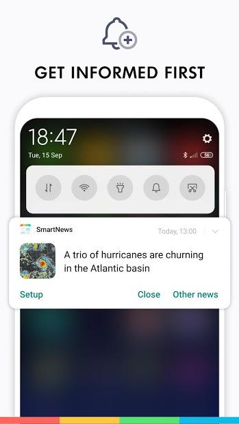 Screenshots SmartNews - Ứng dụng diễn đàn tìm hiểu tin tức mới trên thế giới