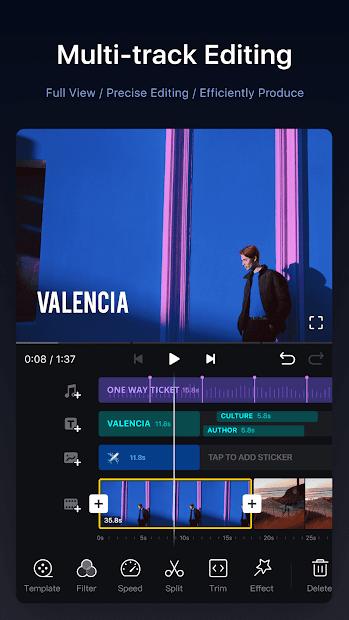 Screenshots VN Video Editor: Ứng dụng chỉnh sửa video miễn phí, chuyên nghiệp