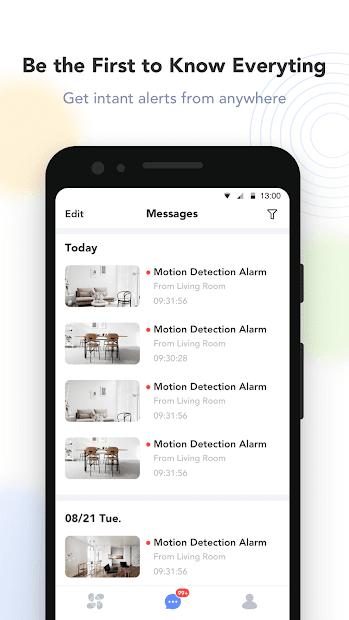 Screenshots Tải EZVIZ: Ứng dụng xem camera EZVIZ trên điện thoại