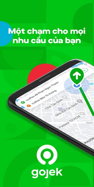 Screenshots GoJek: Ứng dụng đặt xe, giao đồ ăn, giao hàng nhanh