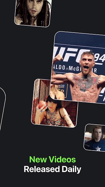 Screenshots Reface: Ứng dụng ghép mặt vào video của người nổi tiếng