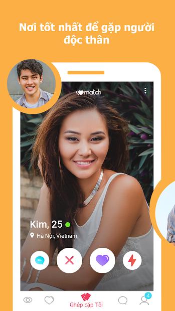 Screenshots W-Match: Ứng dụng nhắn tin hẹn hò online nhanh chóng