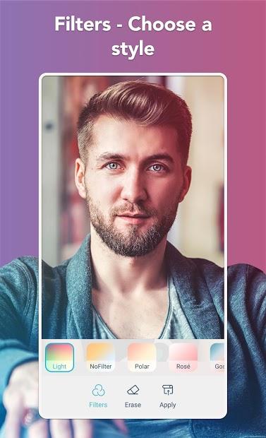 Screenshots Facetune2: Ứng dụng trang điểm, chỉnh ảnh chân dung chuyên nghiệp