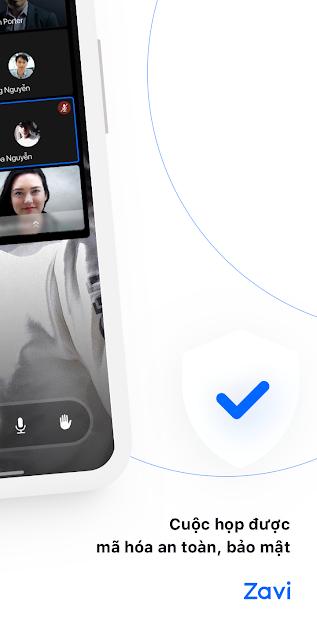 Screenshots Zavi - Ứng dụng họp online của người Việt