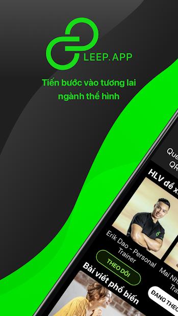 Screenshots LEEP.APP - App kết nối, tìm và lựa chọn huấn luyện viên GYM cá nhân